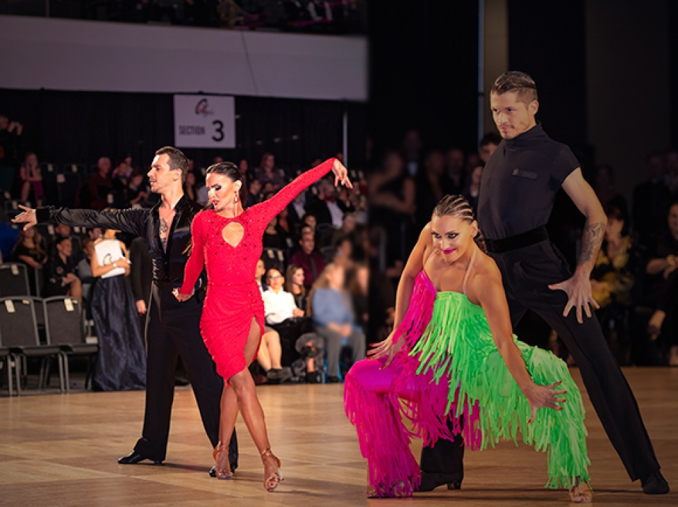 Open Professional Latin from Ohio Star Ball 2019