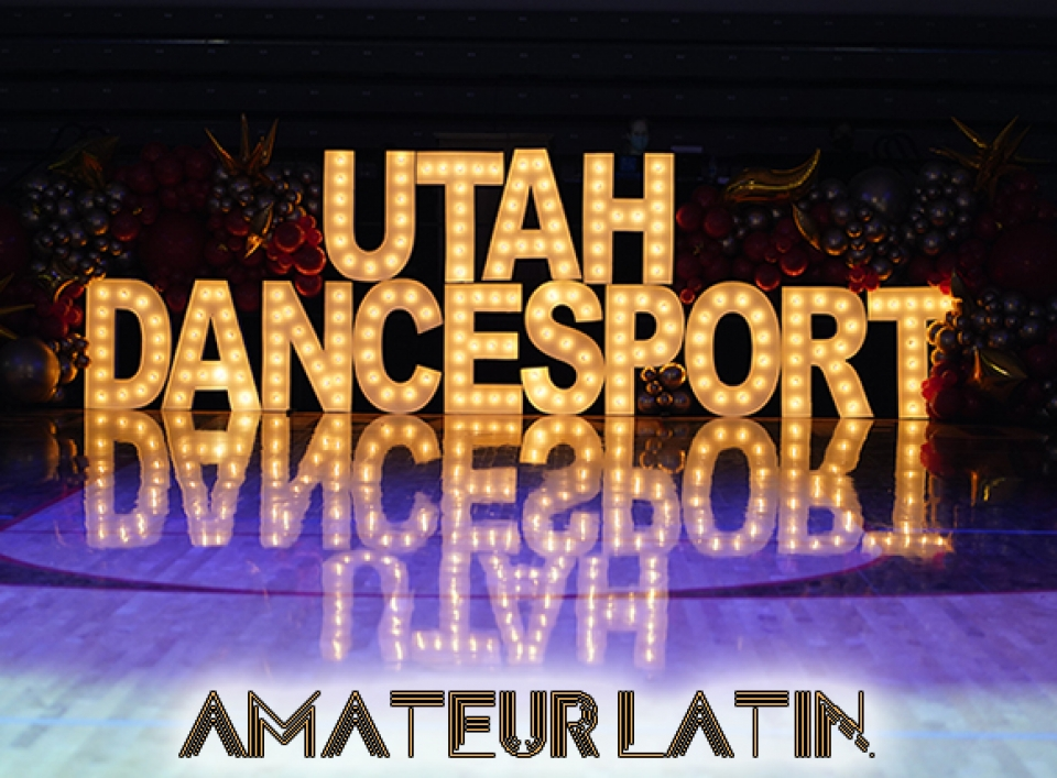 Open Amateur Latin from Utah Dancesport Challenge 2021